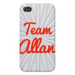 Equipo Allan iPhone 4/4S Fundas