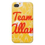 Equipo Allan iPhone 4 Carcasa