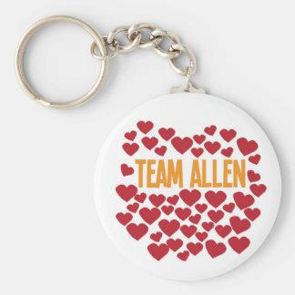 Equipo Allen Llavero Personalizado
