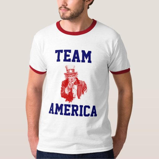 Equipo América Playera