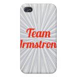 Equipo Armstrong iPhone 4 Cárcasas
