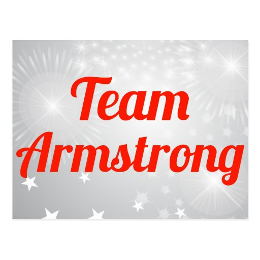 Equipo Armstrong Postales