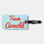 Equipo Arnold Etiqueta De Equipaje