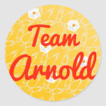 Equipo Arnold Etiqueta Redonda