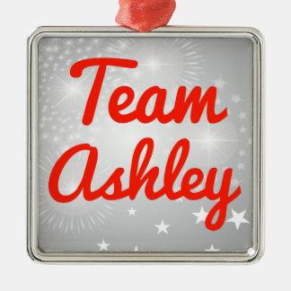 Equipo Ashley Adorno Navideño Cuadrado De Metal