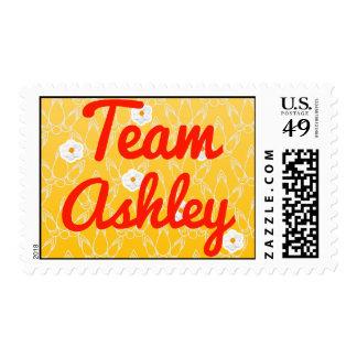 Equipo Ashley Sellos Postales