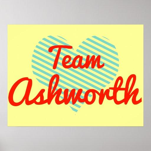 Equipo Ashworth Impresiones