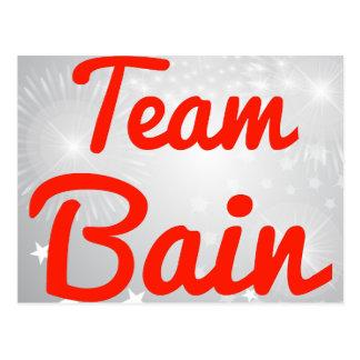 Equipo Bain Tarjetas Postales