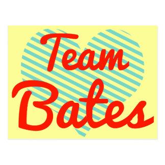 Equipo Bates Tarjeta Postal