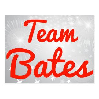 Equipo Bates Postales