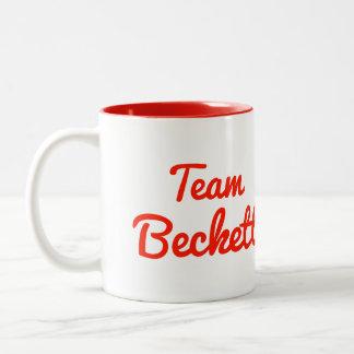Equipo Beckett Taza