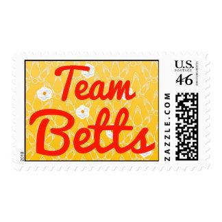 Equipo Betts Sello