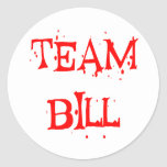 Equipo Bill Etiqueta Redonda