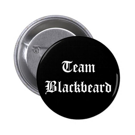 Equipo Blackbeard Pin Redondo 5 Cm
