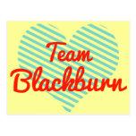 Equipo Blackburn Tarjetas Postales