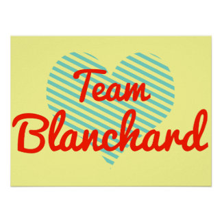 Equipo Blanchard Poster