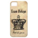 Equipo Boleyn - la corona y la firma de Anne iPhone 5 Case-Mate Funda