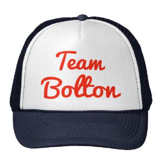Equipo Bolton Gorros Bordados