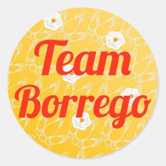 Equipo Borrego Etiqueta Redonda