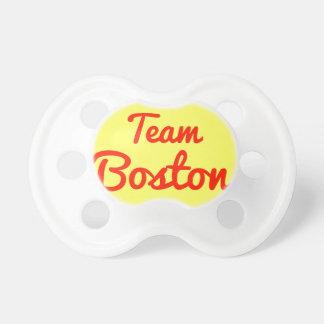 Equipo Boston Chupetes De Bebe