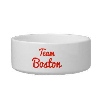 Equipo Boston Tazón Para Comida Gato