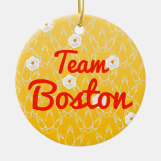 Equipo Boston Ornamento Para Reyes Magos