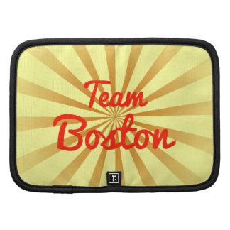 Equipo Boston Planificador