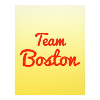 Equipo Boston Tarjetas Publicitarias
