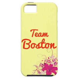 Equipo Boston iPhone 5 Protectores
