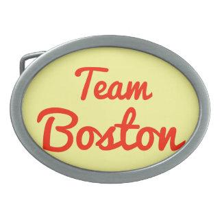 Equipo Boston Hebilla De Cinturón