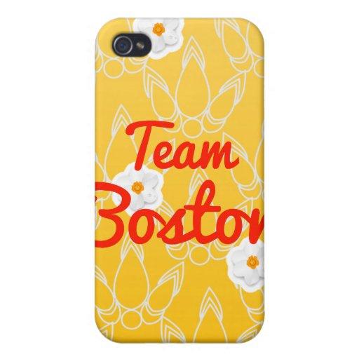 Equipo Boston iPhone 4 Funda