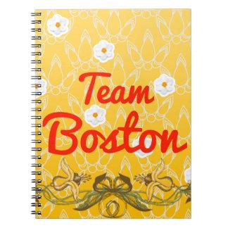 Equipo Boston Libreta