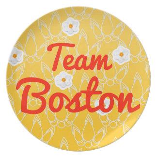 Equipo Boston Platos De Comidas