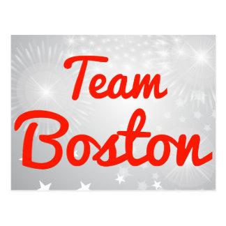 Equipo Boston Postales