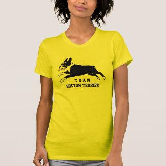 Equipo Boston Terrier - texto de encargo Camiseta