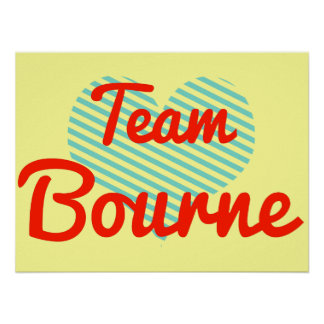 Equipo Bourne Poster