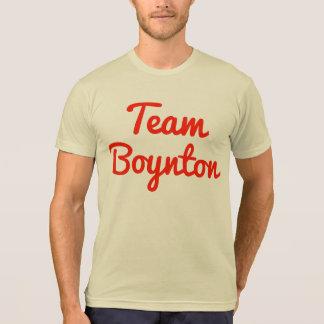 Equipo Boynton Camisetas