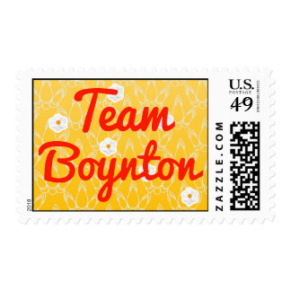 Equipo Boynton Sellos