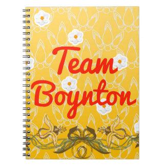 Equipo Boynton Spiral Notebook