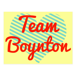 Equipo Boynton Tarjetas Postales