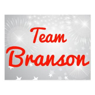 Equipo Branson Postal