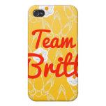 Equipo Britt iPhone 4/4S Funda