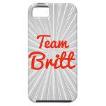 Equipo Britt iPhone 5 Fundas