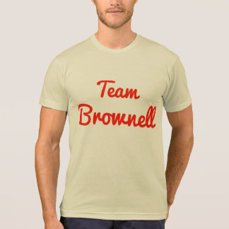 Equipo Brownell Camisetas
