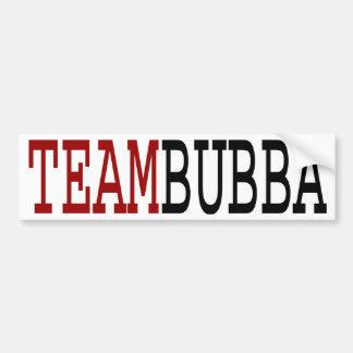 Equipo Bubba Pegatina De Parachoque