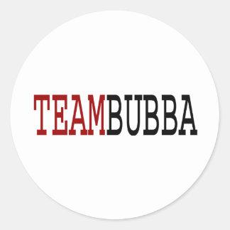 Equipo Bubba Pegatina Redonda