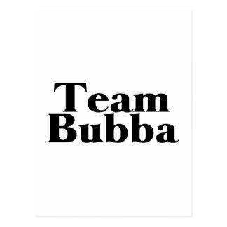 Equipo Bubba Tarjetas Postales