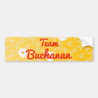 Equipo Buchanan Pegatina Para Auto