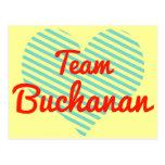 Equipo Buchanan Tarjetas Postales