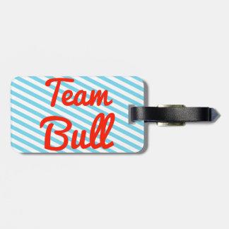 Equipo Bull Etiquetas De Maletas